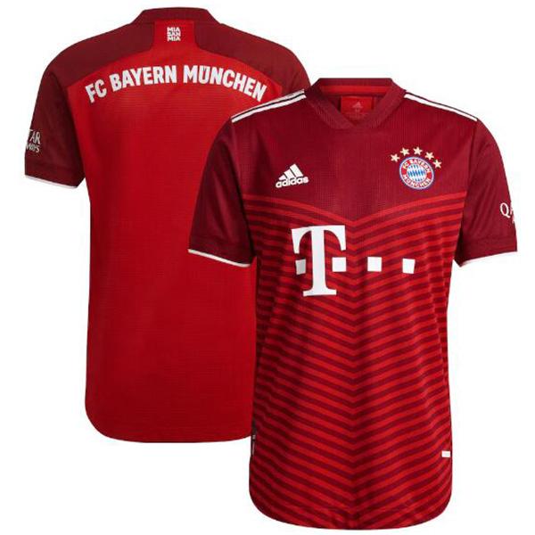 Bayern Munich maglia casalinga partita prima maglia da calcio sportiva da uomo 2021-2022