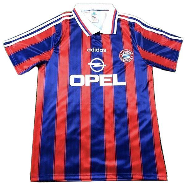 Bayern munich home retro jersey maillot match men's 1st soccer sportwear football shirt 1995-1997