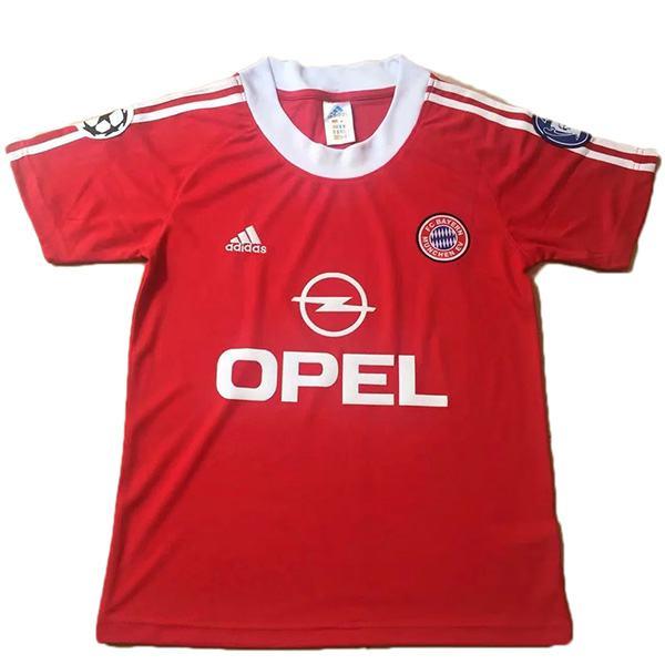 Bayern Munich home retro jersey men's 1st soccer sportwear football shirt 1994