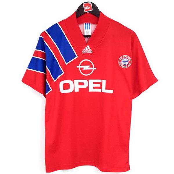 Bayern Monaco Prima maglia da calcio sportiva da uomo del di Baviera casa retrò maglia vintage partita di calcio 1991-1993