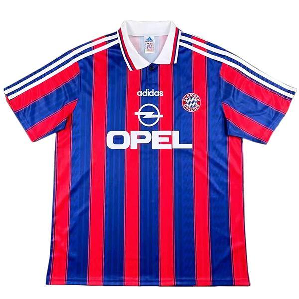 Bayern munich maglia casalinga prima maglia da calcio sportiva da uomo vintage retrò partita di calcio 1995-1997