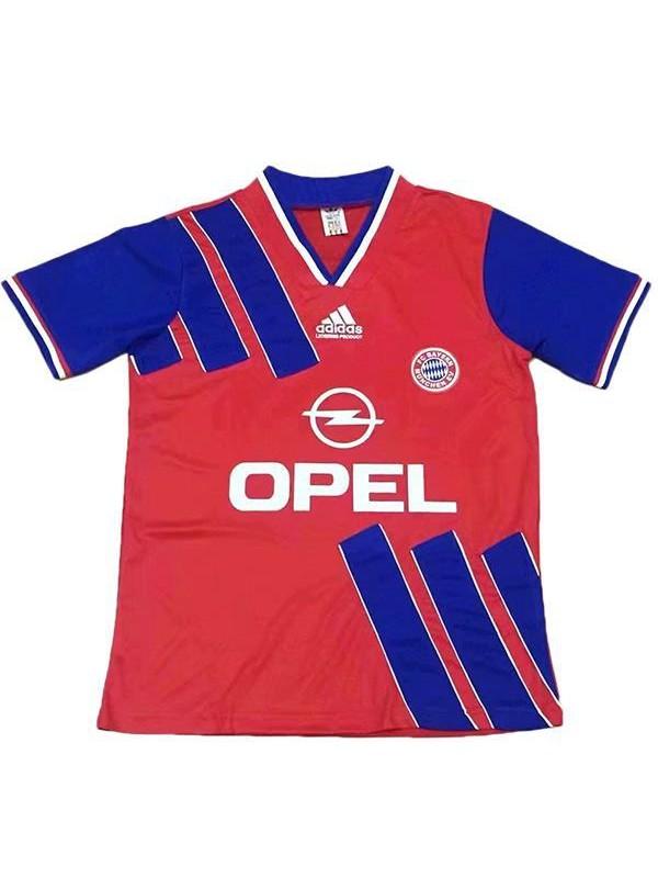 Bayern monaco home retro vintage soccer jersey match prima maglia da calcio sportiva da uomo 1993