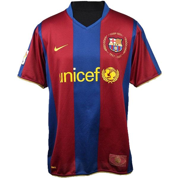 Barcelona 50th commemorative jersey