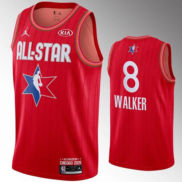 2020 all star game jordan kemba walker boston celtics 8 nba basketball swingman jersey red edition shirt