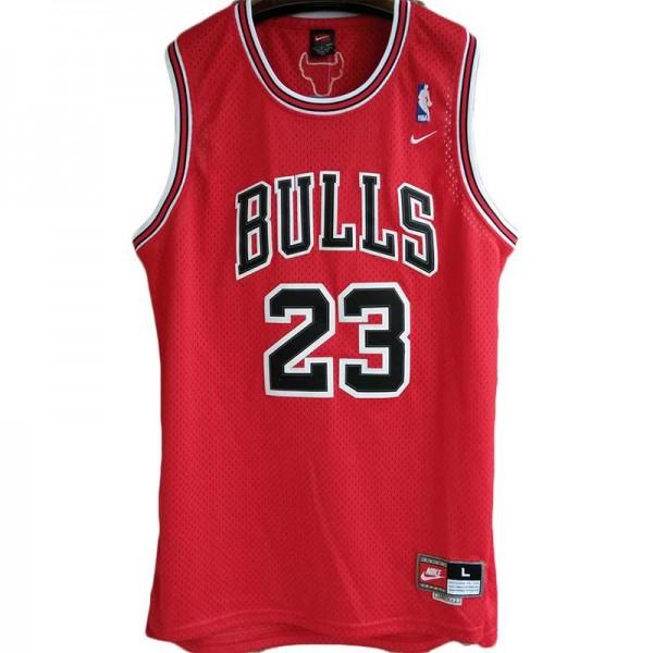 Bulls Michael Jordan Road 23 Basketball Uniforms AU Retro Jerseys