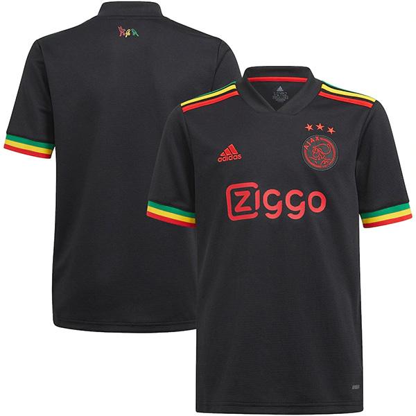 Ajax terza maglia dell'match 3a maglia da calcio sportiva da calcio da uomo 2021-2022