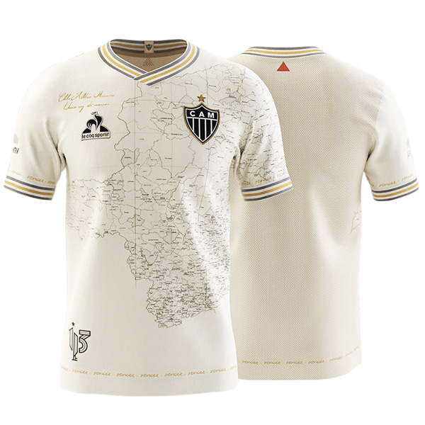 Atlético Mineiro 113 ° anniversario Manto Da Massa maglia partita di calcio abbigliamento sportivo da uomo magliette da calcio maglia sportiva 2021-2022