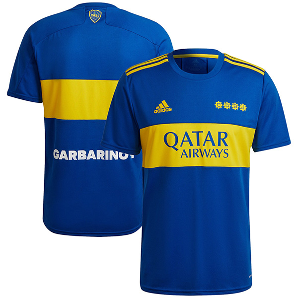 Boca juniores maglia casalinga del prima maglia da calcio sportiva da uomo per partita di calcio 2021-2022