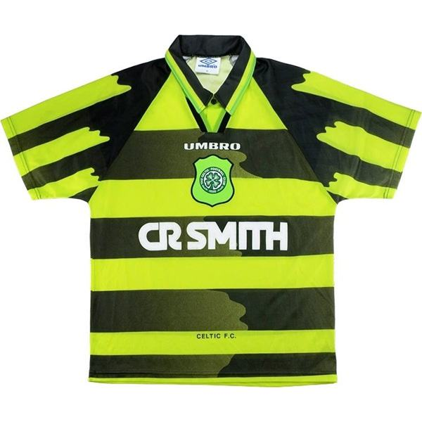 Celtic away retro soccer jersey maillot extérieur match men's second soccer sportwear football shirt 1996-1997