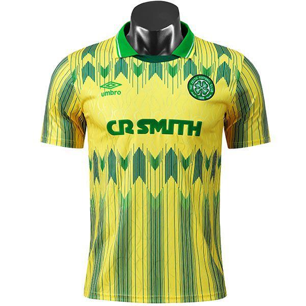 Celtic away retro soccer jersey maillot match men's second sportwear football shirt 1992-1993