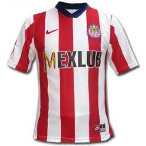Chivas Home Soccer Retro Jersey Men's 1st Soccer Sportwear Football Shirt 1997