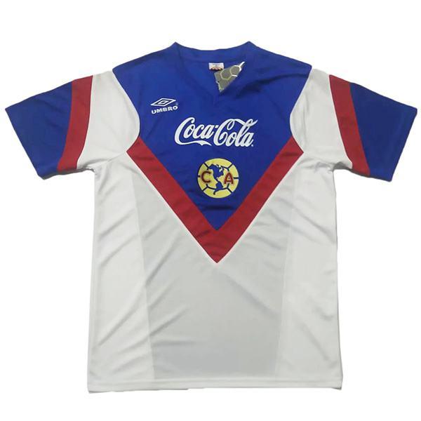 Club america away retro soccer jersey maillot match men's 2ed sportwear football shirt 1988