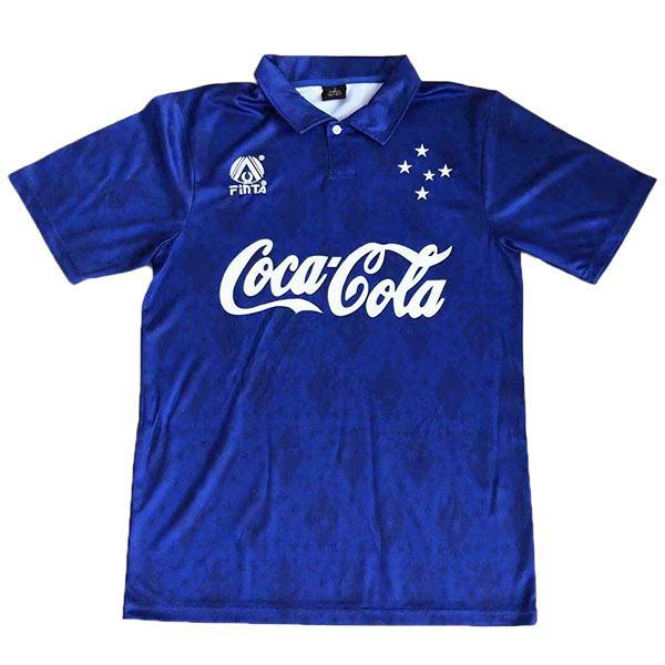 Cruzeiro maglia storica casa maglietta sportiva da calcio da uomo a manica lunga da uomo sportivo 1993-1994
