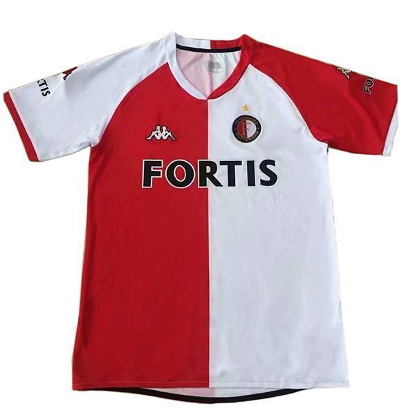 Feyenoord home vintage soccer jersey match prima maglia da calcio sportiva da uomo 2008