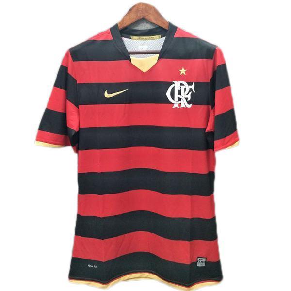 Flamengo Home Retro Jersey Maillot Match Men's Soccer Sportwear Football Shirt 2008/2009