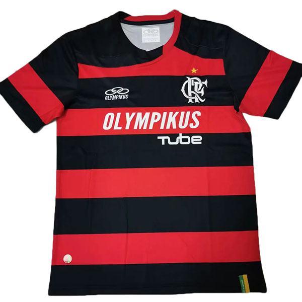 Flamengo Home Retro Jersey Olympikus FP Maillot Match Men's Soccer Sportwear Football Shirt 2008-2009