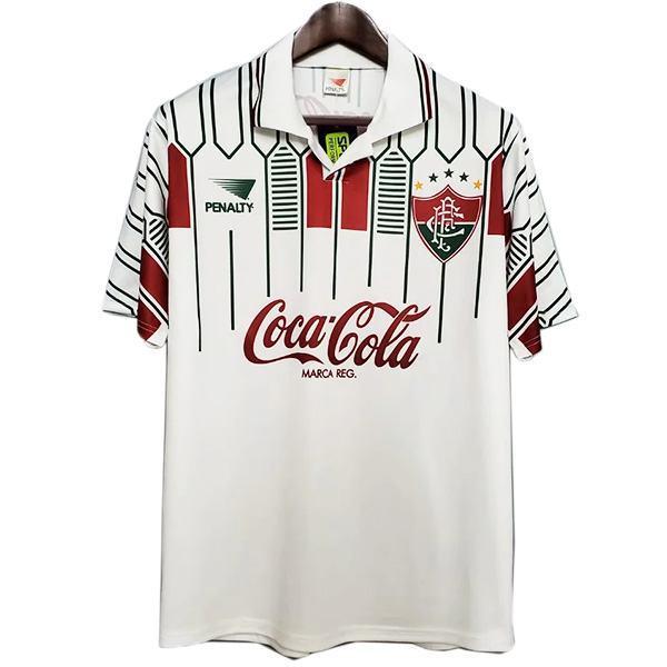 Fluminense maglia da calcio retrò da trasferta, seconda maglia da calcio sportiva da uomo 1989-1990