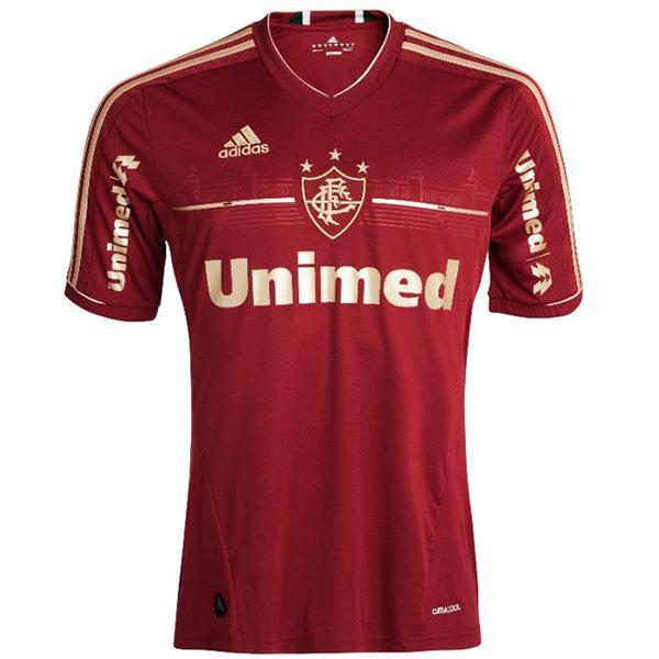 Fluminense third retro soccer jersey maillots match men's 3rd soccer sportwear football shirt 2011-2013