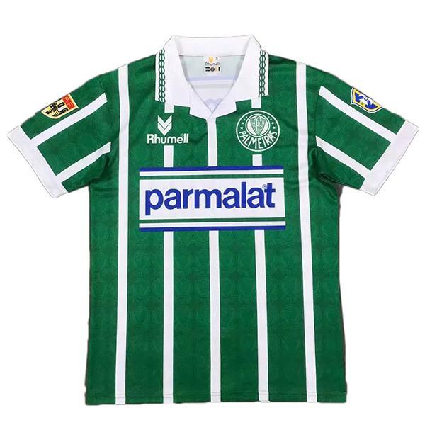 Palmeiras home retro soccer jersey sportwear men's 1st soccer shirt football sport t-shirt 1993-1994