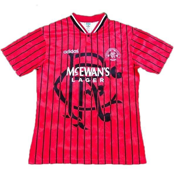 Rangers away retro soccer jersey maillot match men's second sportwear football shirt 1994-1995