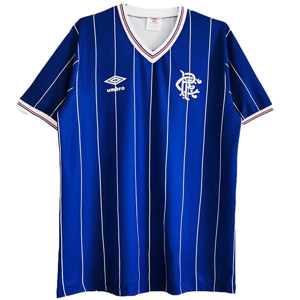 Rangers home retro soccer jersey maillot match prima maglia da calcio sportiva da uomo 1982-1983