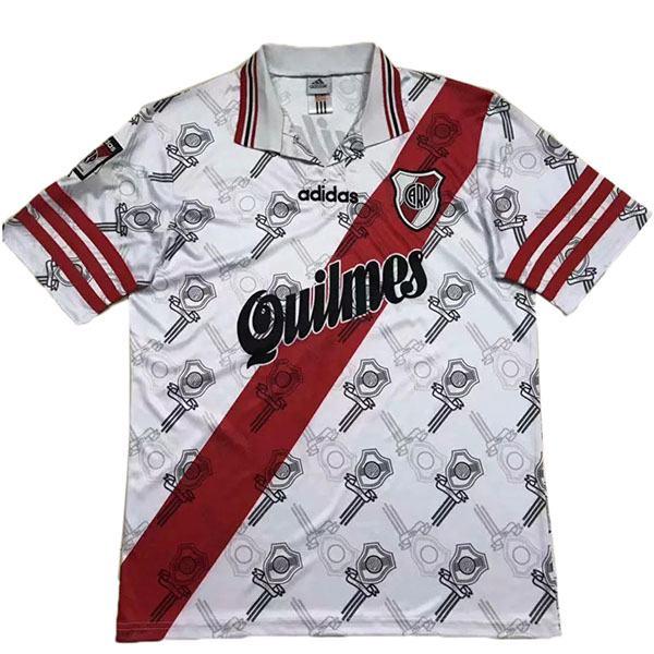 River Plate Home Retro Jersey Men's Soccer Sportwear Football Shirt 1996