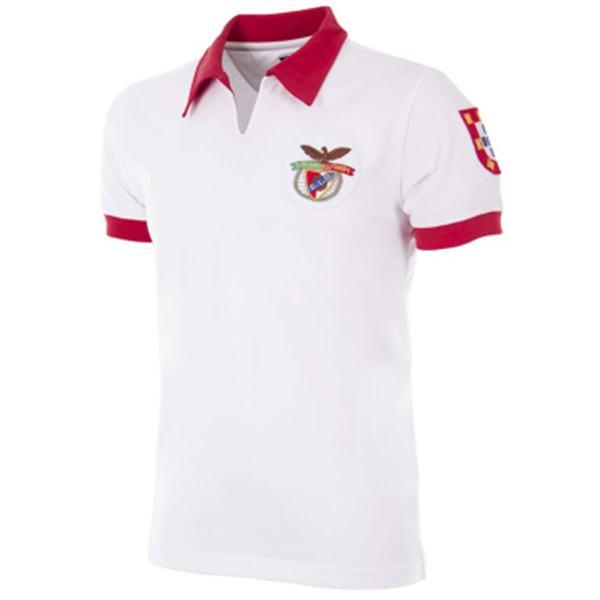 Benfica maglia storica da trasferta seconda maglia sportiva da uomo seconda maglia sportiva 1961