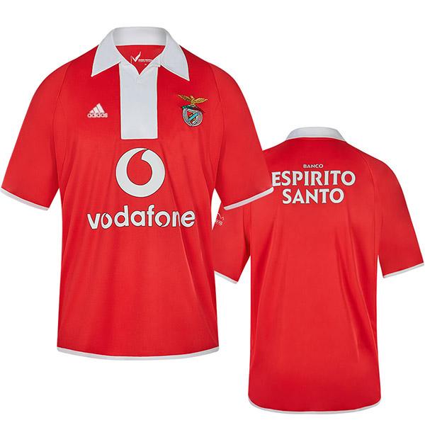 Benfica maglia casalinga del t-shirt retrò da calcio magliette da calcio maglia sportiva 2004-2005