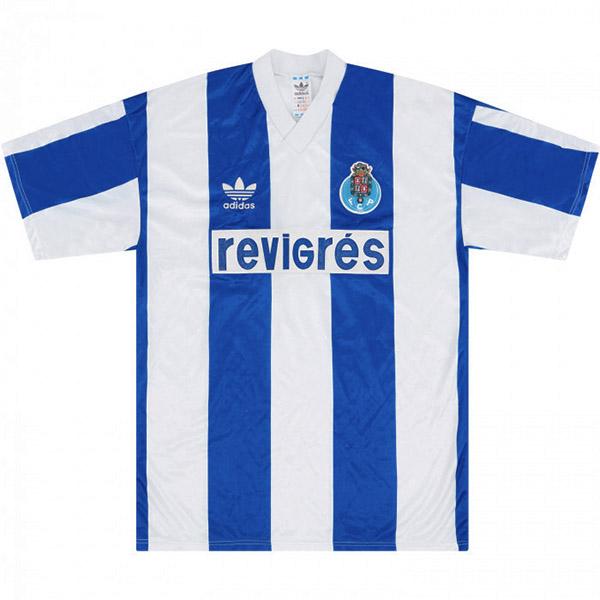 FC Porto maglia da calcio vintage retrò casa partita prima maglia da calcio sportswear da uomo 1990-1992
