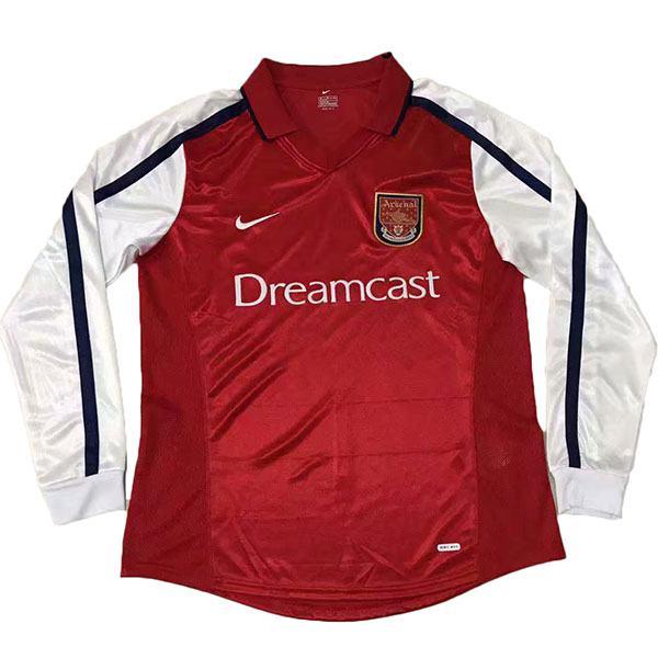 Arsenal Home Long Sleeve Retro Jersey 2000