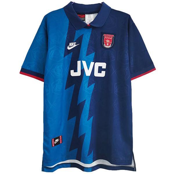 Arsenal away retro soccer jersey maillot match second men's second sportwear football shirt 1995-1996