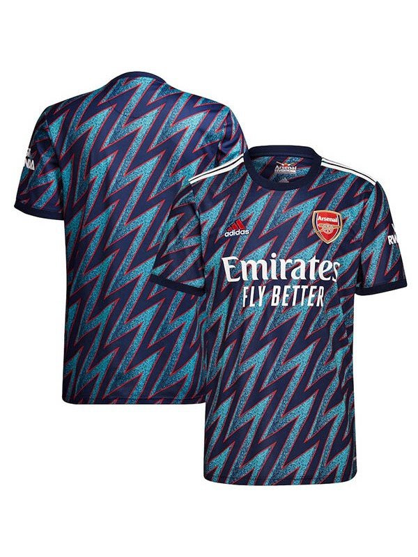 Arsenal terza maglia vintage match soccer kit 3a maglia da calcio sportswear da uomo 2021-2022