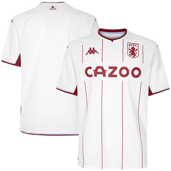 Aston villa maglia da trasferta seconda maglia da calcio abbigliamento sportivo da uomo magliette da calcio maglia sportiva 2021-2022