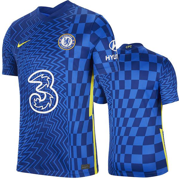 Chelsea home jersey match soccer prima maglia da calcio sportiva da uomo 2021-2022