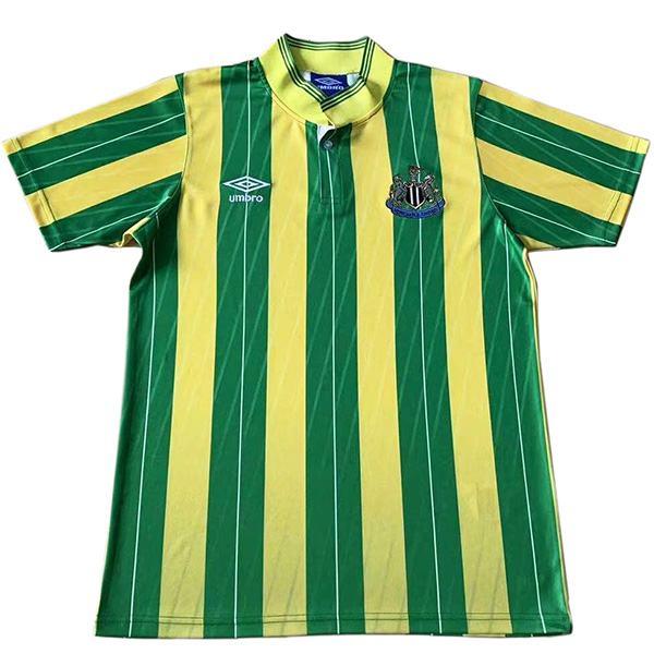 Newcastle United maglia da trasferta del partita di calcio vintage retrò da uomo secondo abbigliamento sportivo da calcio 1988