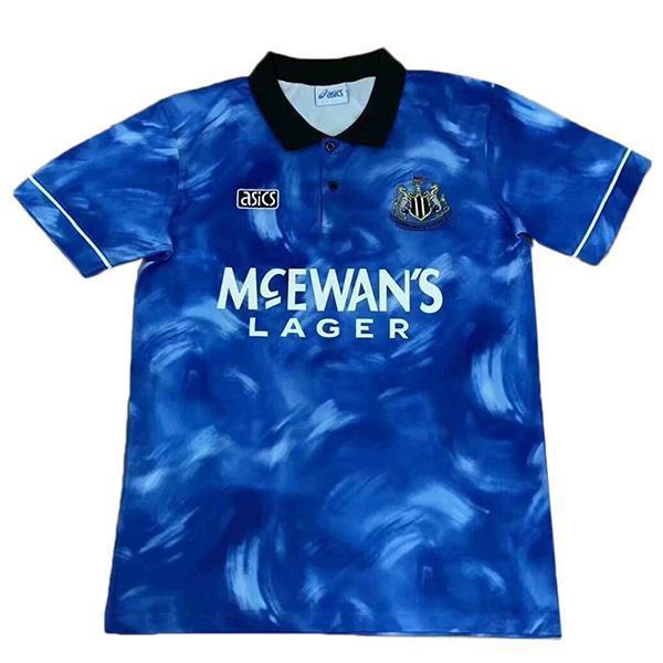 Newcastle United Maglia da calcio vintage retrò del seconda partita da calcio sportivo da uomo 1994-1995