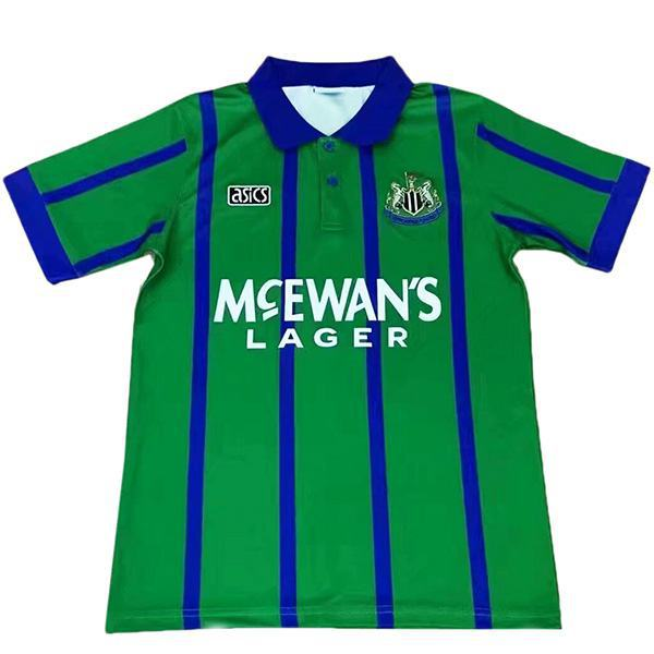 Newcastle United maglia da calcio vintage retrò del partita da calcio da uomo secondo abbigliamento sportivo 1995-1996