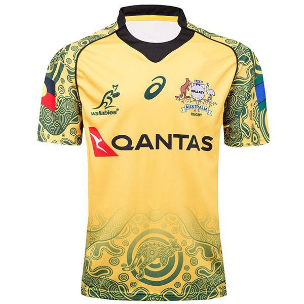 Australia anniversary rugby Jersey 2017/2018 yellow