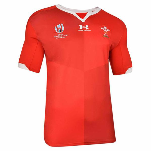 Welsh home 2019 word cup rugby jersey national team RWC men's replica shirt red