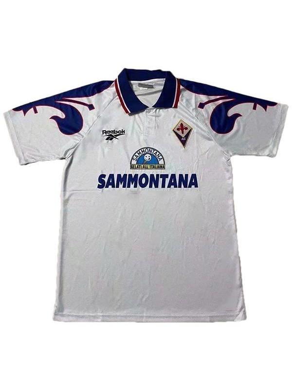 ACF Fiorentina maglia away seconda maglia da calcio sportiva da uomo vintage retrò partita di calcio 1995-1996