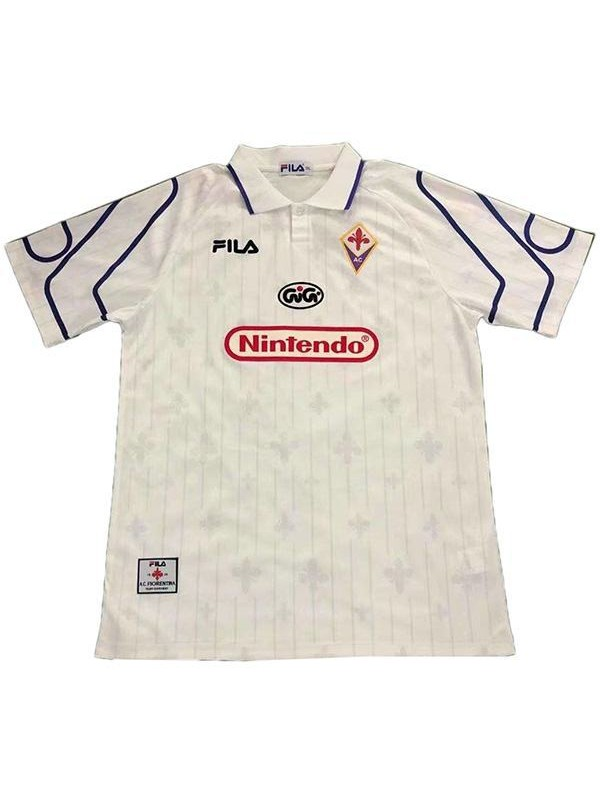 ACF Fiorentina away vintage retro jersey maillot match seconda maglia da calcio sportswear da uomo 1997-1998