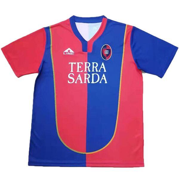 Cagliari Calcio maglia retrò home vintage soccer match prima maglia da calcio sportswear uomo 2004-2005