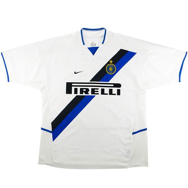 Inter Milan Away Retro Jersey Men's Soccer Sportwear Football Shirt 2002/2003