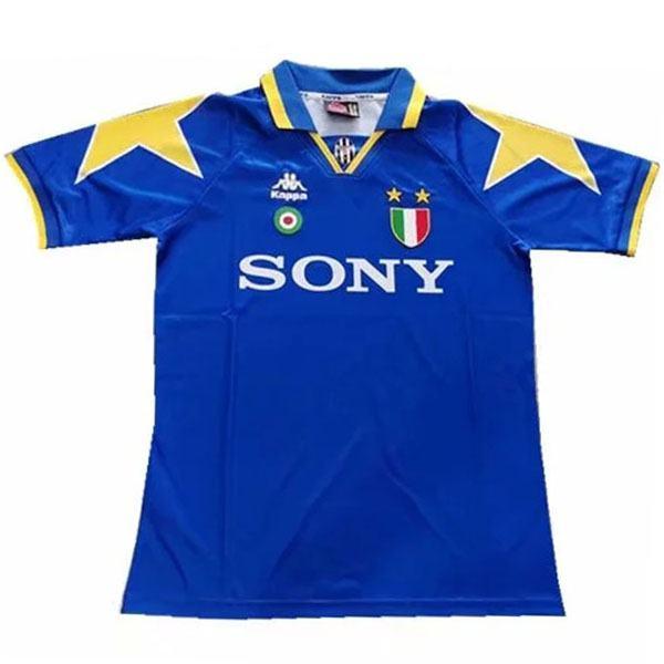 Juventus away retro soccer jersey maillot match men's second sportwear football shirt 1995-1997