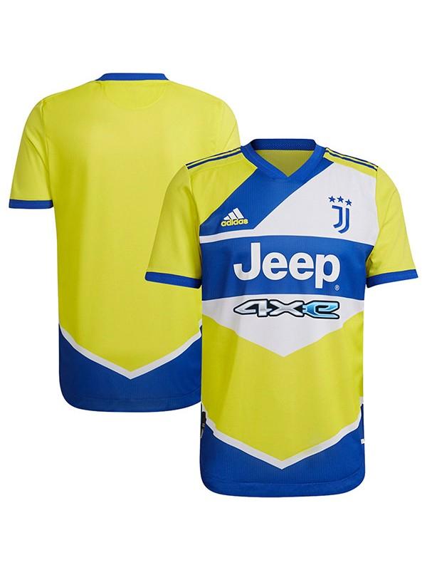 Juventus terza maglia della match 3a maglia da calcio sportiva da calcio da uomo 2021-2022