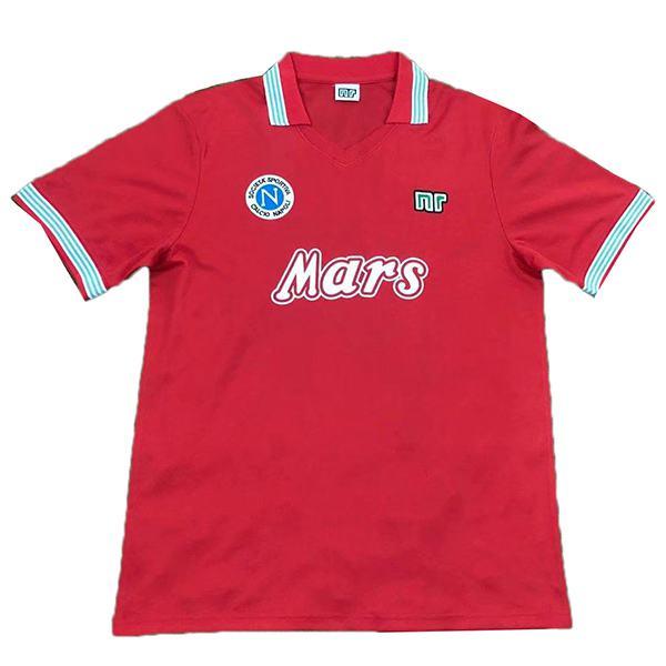 Napoli third retro soccer jersey sportwear men's 3rd soccer shirt football sport t-shirt 1988-1989