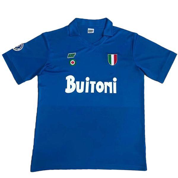 SSC Napoli maglia da calcio home retro jersey da calcio da uomo 1987-1988