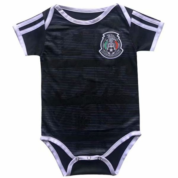 Mexico home baby onesie soccer kids jersey 2020