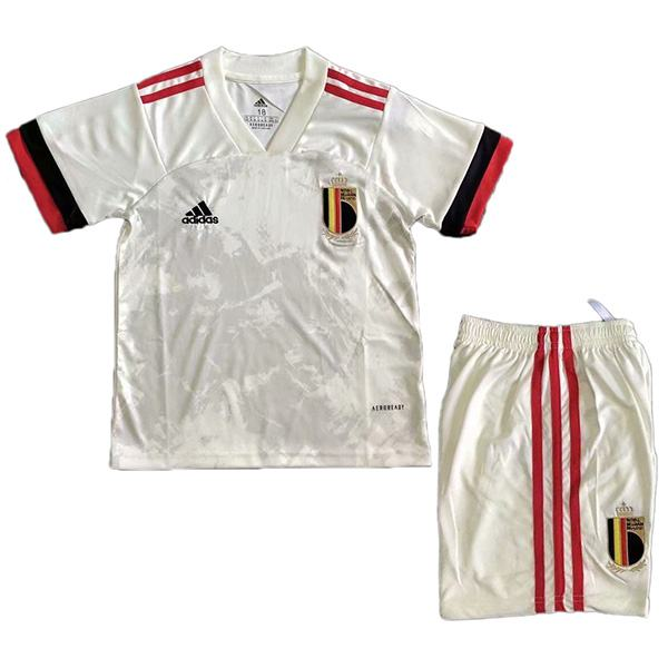 Belgium Away Kids Kit Soccer Children 2ed Football Shirt Youth Uniforms 2020-2021