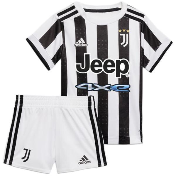 Juventus calcio maglia home da bambino della per bambini prima maglia da calcio mini maglia maillot match uniformi giovanili 2021-2022